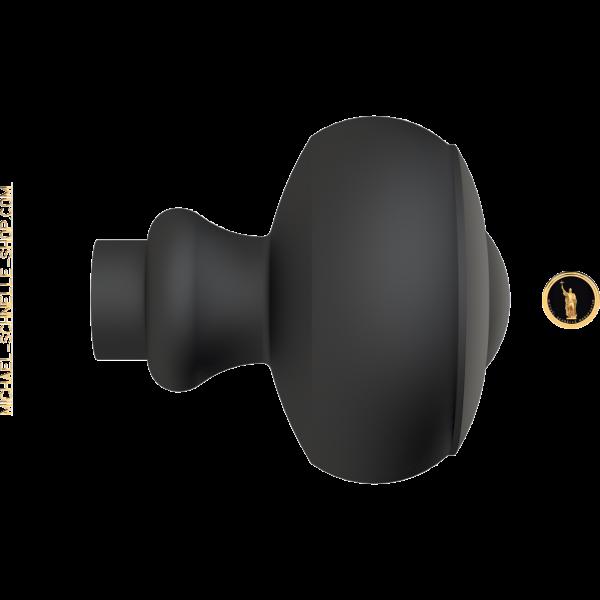Knauf 4216 mit Bund 18mm, Vierkant-Bohrung 8mm