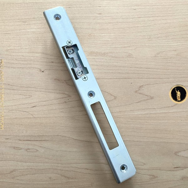 KFV Winkelschließblech für Falle / Riegel 15.530E mit AT-Stück 115-34