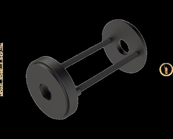 Drückerrosetten-Paar 5001 / 5002